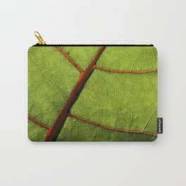 Leaf Veins II Carry-All Pouch