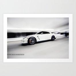 R35 GTR Art Print