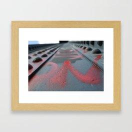 illegal. Framed Art Print