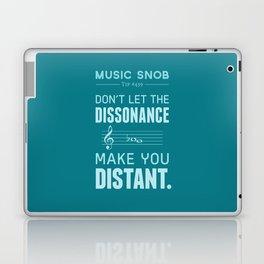 The Dissonance — Music Snob Tip #439 Laptop & iPad Skin