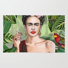 Frida con Amigos Rug