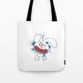 Kiddy Crack Tote Bag