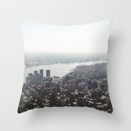 East River Throw Pillow