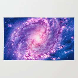 Cosmic vacuum cleaner (Spiral Galaxy M83) Rug