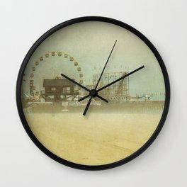 Seaside Heights Fun town pier New Jersey Wall Clock