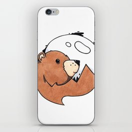 Moonbear iPhone Skin