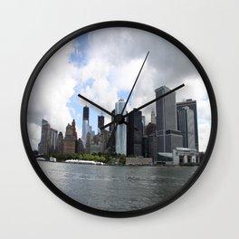 Manhattan View 2012 Wall Clock