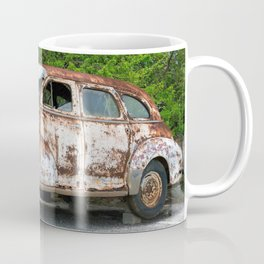 Rusty Oldtimer Wreck Ultra HD Coffee Mug