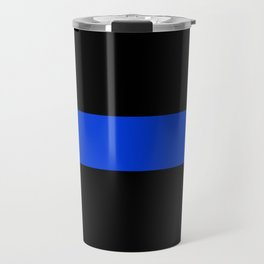 Thin Blue Line Travel Mug