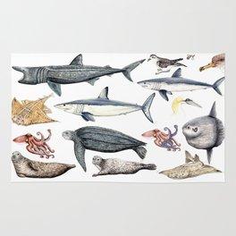 Marine wildlife Rug