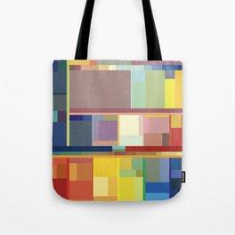 Color Machine Tote Bag