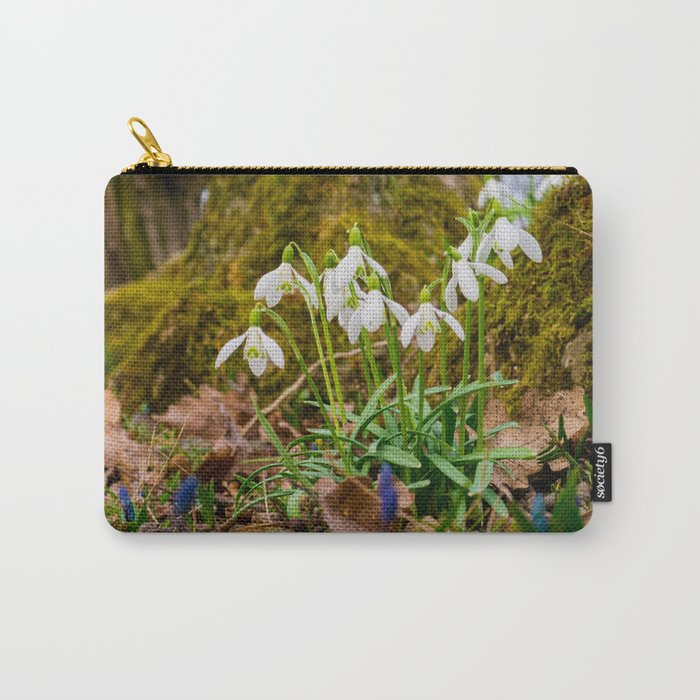 Snowdrops in march Carry-All Pouch