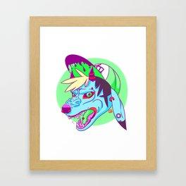 RIP Aesthetic  Framed Art Print