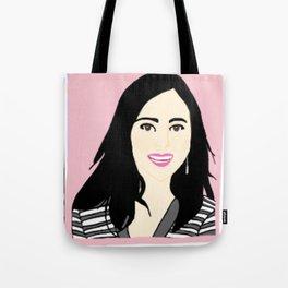 Knock Knock! Mina Pink Tote Bag