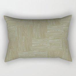 Woodgrain Rectangular Pillow