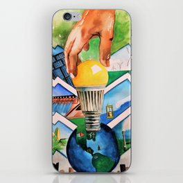 Protecting the Environment iPhone Skin