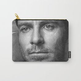 Michael Fassbender - Portrait Carry-All Pouch