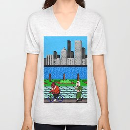 Ask Gary Vee Show - NES Punch Out Training Unisex V-Neck
