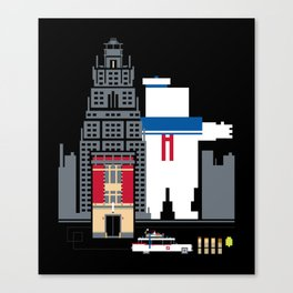 Who You Going To Call? Canvas Print