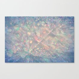 Sparkling Crystal Maze Abstract Canvas Print