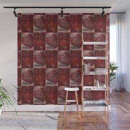 Cardio Fragaria Pattern Wall Mural