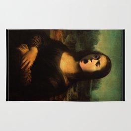 Caravaggio's Mona Lisa Rug