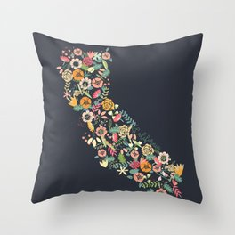 Beauty in Cali Throw Pillow