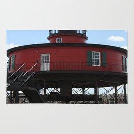 Seven Foot Knoll Lighthouse Rug
