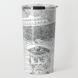 Captain Smith and Officers, RMS Titanic Travel Mug