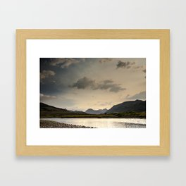 Wake Up Yellowstone Framed Art Print