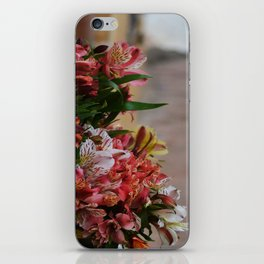 Mexican flowers iPhone Skin
