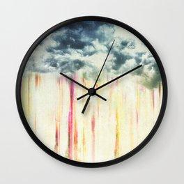 Let it rain on me Wall Clock