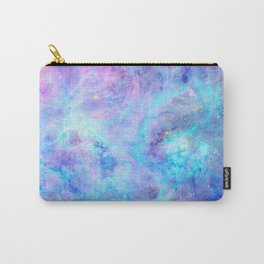 Bright Tarantula Nebula Aqua Lavender Periwinkle Carry-All Pouch