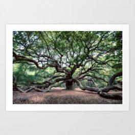 Oak of the Angels Art Print