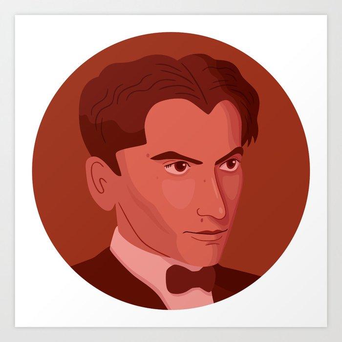 Queer Portrait - Federico García Lorca Art Print