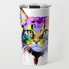 Maine coon cat Travel Mug