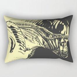 Aliens Colors Rectangular Pillow