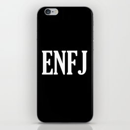 ENFJ Personality Type iPhone Skin
