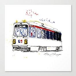 Septa Trolley Art: Philly Public Transportation Canvas Print