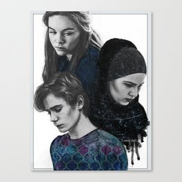 SKAM hard times Canvas Print