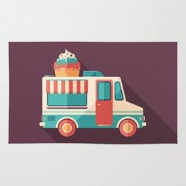 Ice Cream Van Rug