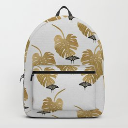 Butterfly & Monstera Backpack
