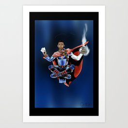 Chris Paul the deceiver Art Print