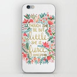 Little & Fierce iPhone Skin
