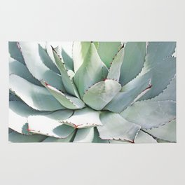 Agave plant Rug