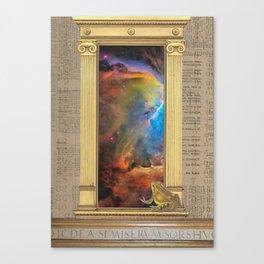 Godspeed Stephen Hawking Canvas Print