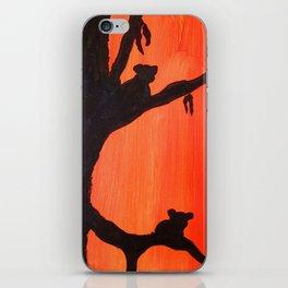 Sunset Koalas iPhone Skin