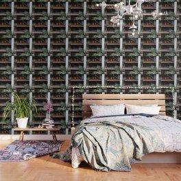 Spring Garden Shed Wallpaper
