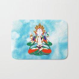 Buddha of Compassion Bath Mat