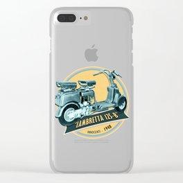 LAMBRETTA 125 B Clear iPhone Case